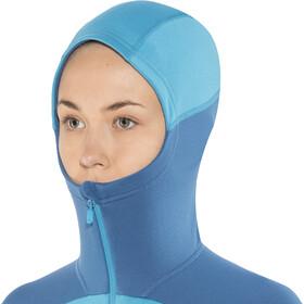 Norrøna Falketind Warm1 Stretch Zip Hoodie Women blue moon